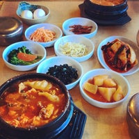 Photo taken at Convoy Tofu House by Melissa F. on 3/9/2014