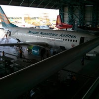 Photo taken at Merpati Maintenance Facility by Rachmatulloh Y. on 5/2/2013