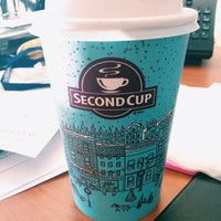 Photo taken at Second Cup by Michelle L. on 11/4/2014
