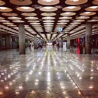 Photo taken at Adolfo Suárez Madrid-Barajas Airport (MAD) by Richard J B W. on 8/28/2013