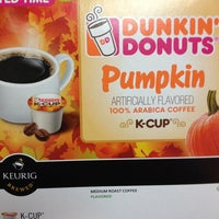Photo taken at Dunkin Donuts by Amber B. on 9/30/2013