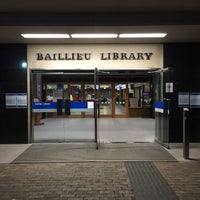 Photo taken at The Baillieu Library by Sisi on 11/23/2015