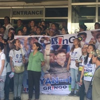 Photo taken at Angeles City Hall by Monette B. on 3/7/2016