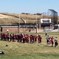 Photo taken at Cherokee Trail High School by blueeyes0406 on 9/27/2014