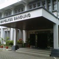 Photo taken at Bapelkes Bandung by Aminah E. on 7/10/2013