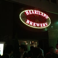 Photo taken at Heartland Brewery by Makoto Y. on 5/24/2013