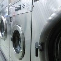 Photo taken at Laundromat by Aleksandra Z. on 2/18/2014