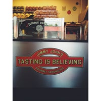 Photo taken at Jimmy John's by David M. on 7/24/2013