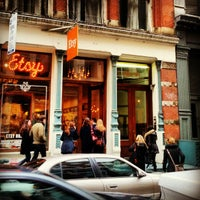 Photo taken at Etsy Holiday Shop by Laurie D. on 12/8/2012