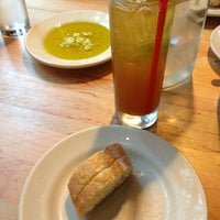 Photo taken at Three Tomatoes Trattoria by Emily C. on 8/1/2013
