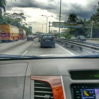 Photo taken at East-West Link Expressway by UmiAbiNini on 11/15/2014
