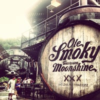 Photo taken at Ole Smoky Moonshine Distillery by Laura R. on 7/7/2013