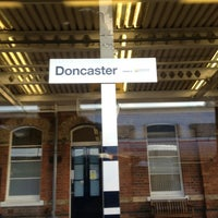 Photo taken at Doncaster Railway Station (DON) by Chris Q. on 3/2/2013