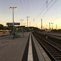 Photo taken at Bahnhof Bruchsal by Robert R. on 8/23/2016