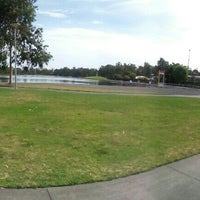 Photo taken at Shepparton Lake by Rafiq r. on 12/13/2015