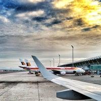 Photo taken at Terminal 4 Satélite by Manu A. on 5/9/2013