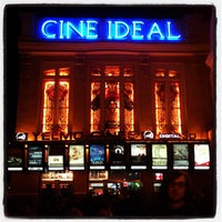 Photo taken at Yelmo Cines Ideal 3D by Manu A. on 11/2/2012