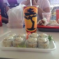 Photo taken at Bonsai Sushi by Giselle gonzalez on 5/19/2013