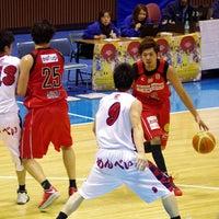 Photo taken at Yoyogi 2nd Gymnasium by Kamome2go on 1/20/2014