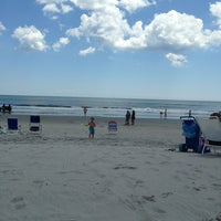 Photo taken at 89th Street Beach by Marc F. on 8/4/2013