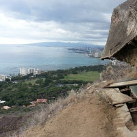 Photo taken at Diamond Head State Monument by Lia D. on 10/22/2013