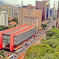 Photo taken at Paulista Avenue by Teo V. on 3/12/2015