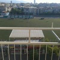 Photo taken at Bornova Stadı by Egemen Ç. on 7/13/2013
