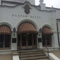 Photo taken at Quapaw Baths & Spa by Kim S. on 8/29/2015