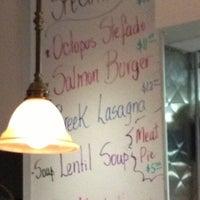 Photo taken at Steve's Greek Cuisine by Andrea E. on 5/21/2013
