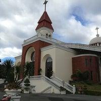 Photo taken at Santuario de San Vicente de Paul by Kim Santiago on 1/19/2013