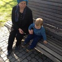 Photo taken at Stadtpark by Elena G. on 4/23/2014