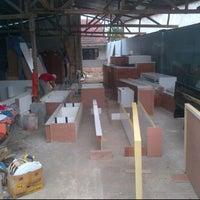 Photo taken at Furnitures workshop PT. MJI by Yos H. on 4/8/2012