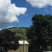 Photo taken at Downtown Ellicottville by Jen P. on 8/5/2015