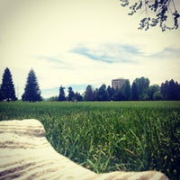 Photo taken at Cheesman Park by Brit on 5/25/2013