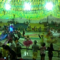 Photo taken at Ginasio de Esportes de Jaguaretama by Márcia Jussara (. on 6/28/2014