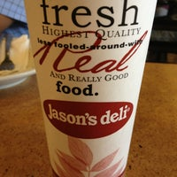 Photo taken at Jason's Deli by Courtney M. on 6/4/2013