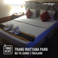 Photo taken at Wattana Park Hotel by Pangnuan K. on 5/11/2013