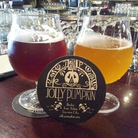 Photo taken at Jolly Pumpkin Cafe & Brewery by Joy C. on 6/20/2013