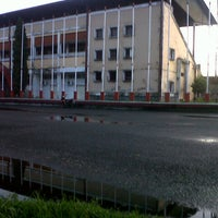 Photo taken at Stadion Andi Mattalatta (Mattoangin) by Fhifi L. on 1/4/2014