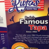 Photo taken at Rufo's Famous Tapa by Pompa C. on 6/24/2013
