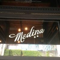 Photo taken at Medina Café by Carlos A. on 7/4/2013