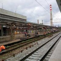 Photo taken at Železniční stanice Praha-Holešovice by Jaroslav P. on 6/26/2013