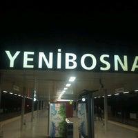 Photo taken at Yenibosna Metro İstasyonu by habib k. on 6/8/2013