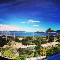 Photo taken at Praia do Flamengo by Marcelo R. on 9/18/2013