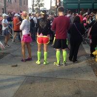 Photo taken at Rock n Roll Savannah Marathon Start by Señora C. on 11/3/2012