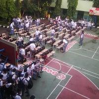 Photo taken at SMAN 61 Jakarta by irene p. on 5/19/2014