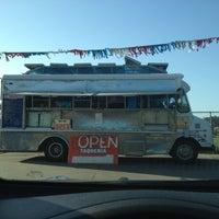 Photo taken at Mi Virgencita Taqueria Taco Truck by Wesley C. on 4/22/2013