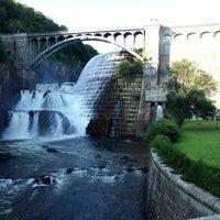Photo taken at Croton Gorge Park by Lauren V. on 7/4/2013