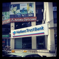 Photo taken at Nations Trust Bank by Chandima K. on 9/18/2012