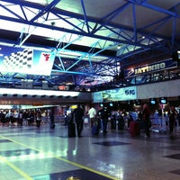 Photo taken at Aeroporto Internacional de Curitiba / Afonso Pena (CWB) by Silmara S. on 10/3/2013